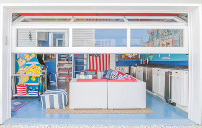 Room of the Day: Beachy Garage Scores a Game Room