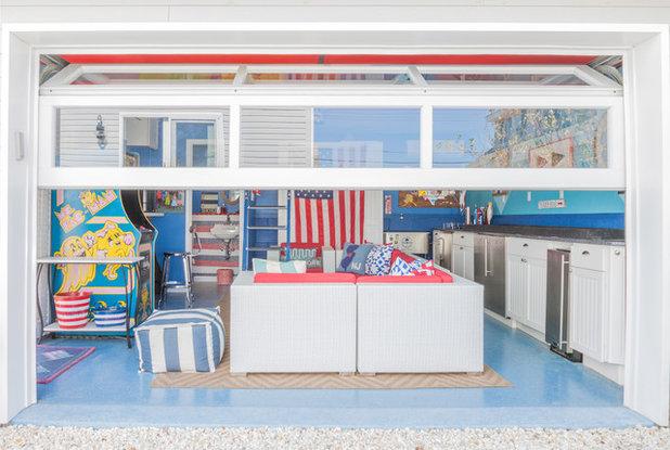 Beach Style Garage by Mimi & Hill interiors