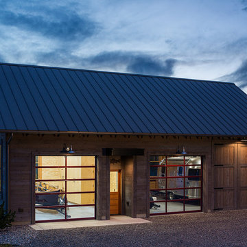 Lazy Heart Ranch | Evening Boathouse