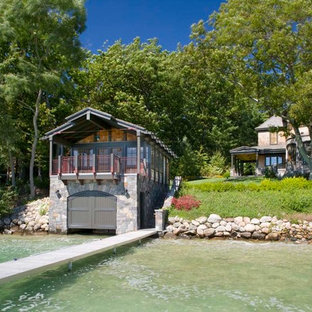 Photo of a large beach style detached boathouse in Other.