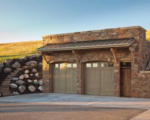 Rustic Garage And Shed Design Ideas Pictures Remodel Decor
