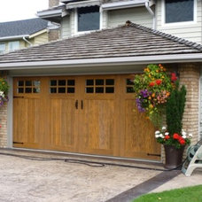 Traditional Garage And Shed by JMAC DOORS