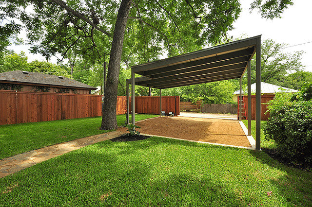 Contemporary Garage And Shed by Brodie Builders