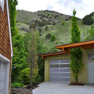 Foto de garaje independiente, actual, pequeño