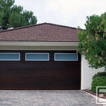 Los Angeles, CA Contemporary Garage Doors, Custom Designed & Handcrafted Locally