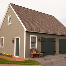 Traditional Garage And Shed by Musser Home Builders, Inc.