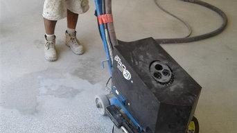 M Smith Garage Floor