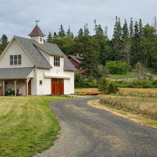 Maine House & Barn