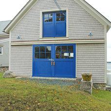 Farmhouse Garage And Shed by Fannie Allen Design