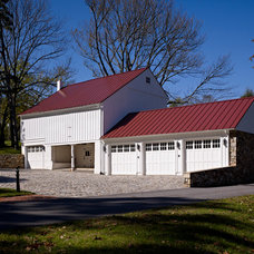 Traditional Garage And Shed by Spencer-Abbott, Inc.