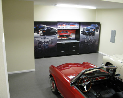 Mercedes man cave for Man cave storage