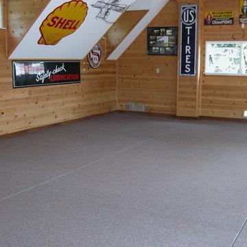 Man Cave Durable Epoxy Flooring Solution