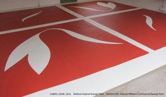Matisse Inspired Garage Floor