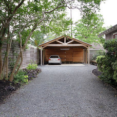Traditional Garage And Shed by Kaleidoscope Design Build, LLC