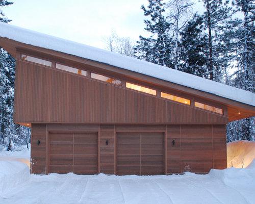 Fotos de garajes dise os de garajes peque os - Garajes de diseno ...