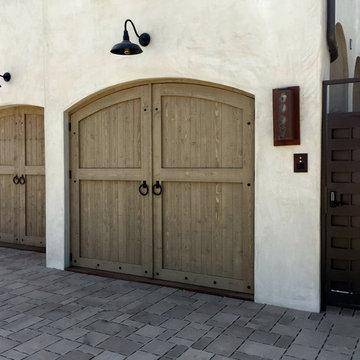 Mediterranean Carriage Doors - Manhattan Beach, CA