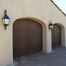 Mediterranean Garage And Shed by Pentimento Lighting and Furnishings