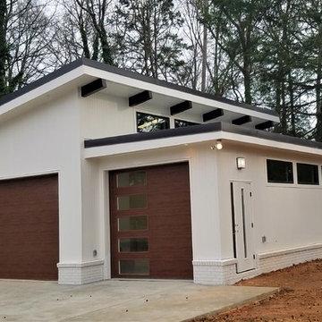 Mid-Century Garage