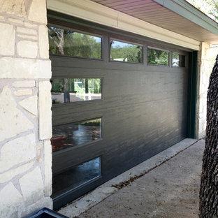 Mid-Century Modern Garage Door by Cowart Door Systems