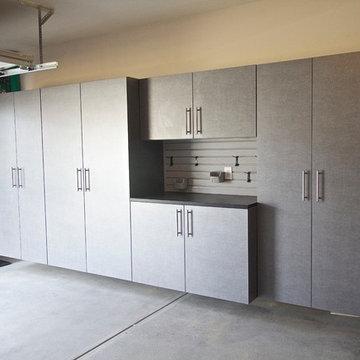 Mishawaka Garage Cabinets