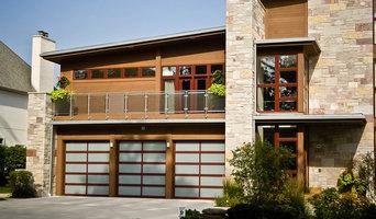 Modern Aluminum Garage Door