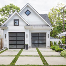 Transitional Garage by Nicole Forina Home