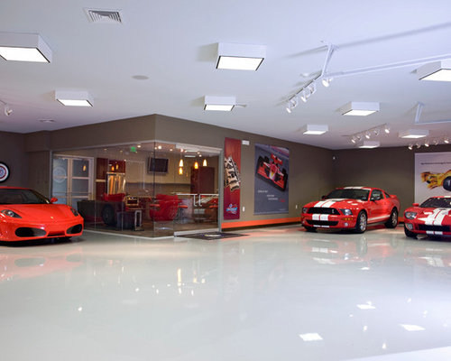 collector car garage ideas - Collector Car Showroom Ideas Remodel and Decor