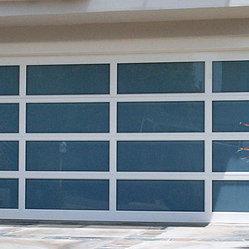 Dynamic Garage Door Modern Garage Doors Aluminum Full