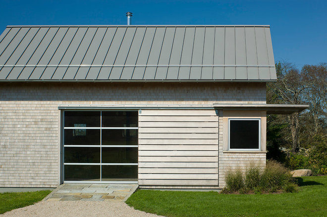 modern garage and shed by Estes/Twombly Architects, Inc.