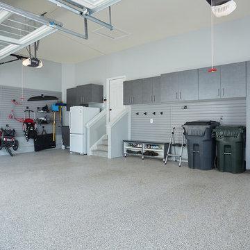Modern Garage Floor