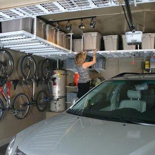 Idéer för att renovera en liten vintage enbils garage och förråd