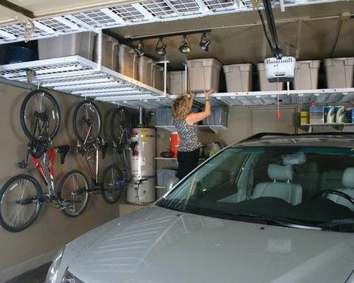 Monkey bar garage storage traditional houzz