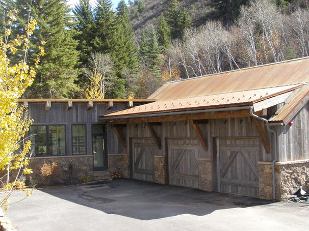Rustic Garage And Shed by Timothy F. White
