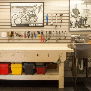 Idéer för att renovera ett vintage kontor, studio eller verkstad