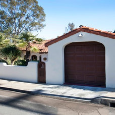 Mediterranean Garage And Shed by Priority 1 Project Management