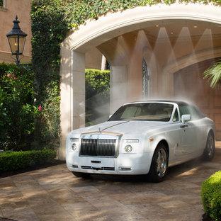 75 Huge Mediterranean Carport Design Ideas - Stylish Huge ...