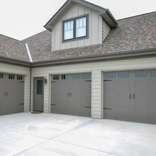 Craftsman Garage And Shed by Owen Homes LLC
