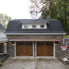 Traditional Garage And Shed by Clawson Architects, LLC