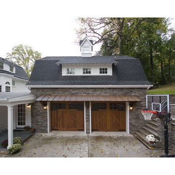 New Garage, Mudroom, Kitchen and Family Room Addition in Montclair, New Jersey