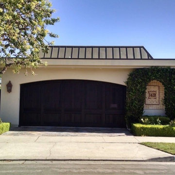 Newport Beach Arched Garage Door