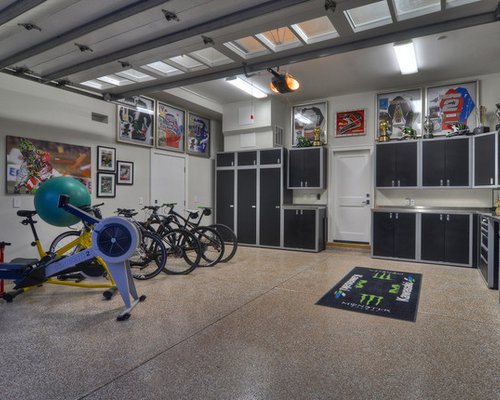 Workout room houzz