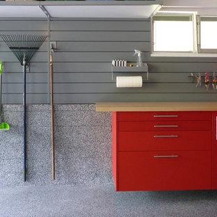 Cette image montre un garage.