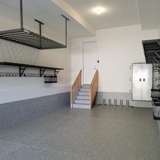 Example of an urban garage design in Denver