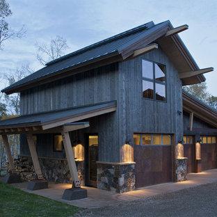 75 Rustic Garage Design Ideas Stylish Rustic Garage