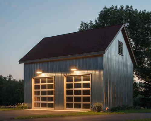 landhausstil garage und gartenhaus in minneapolis ideen. Black Bedroom Furniture Sets. Home Design Ideas
