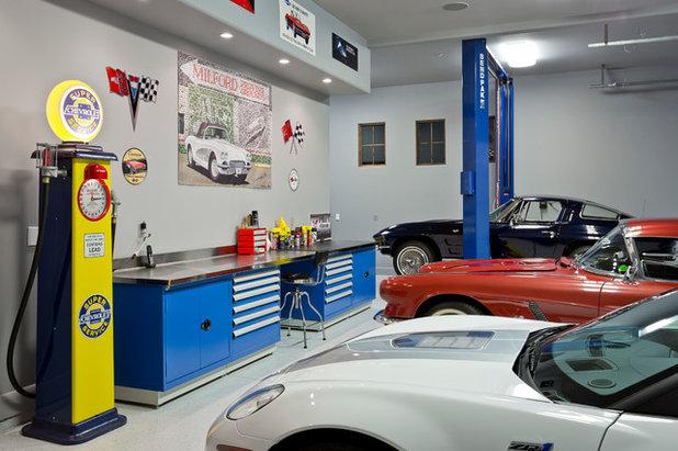 Modern Garage by Est Est, Inc.