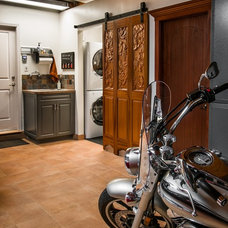 Traditional Garage And Shed by Senga Interior Design