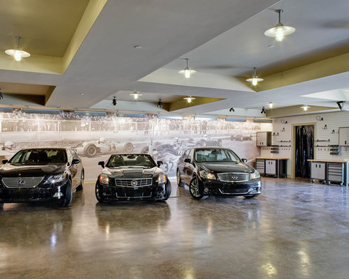 Urban Four Car Garage Photo In Dallas Part 69