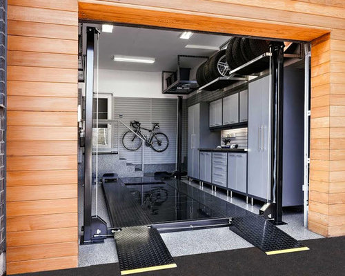 Shipping Container Garage And Shed Design Ideas Pictures Remodel amp Decor