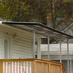 Craftsman carport specialty garage and shed design ideas for Craftsman carport
